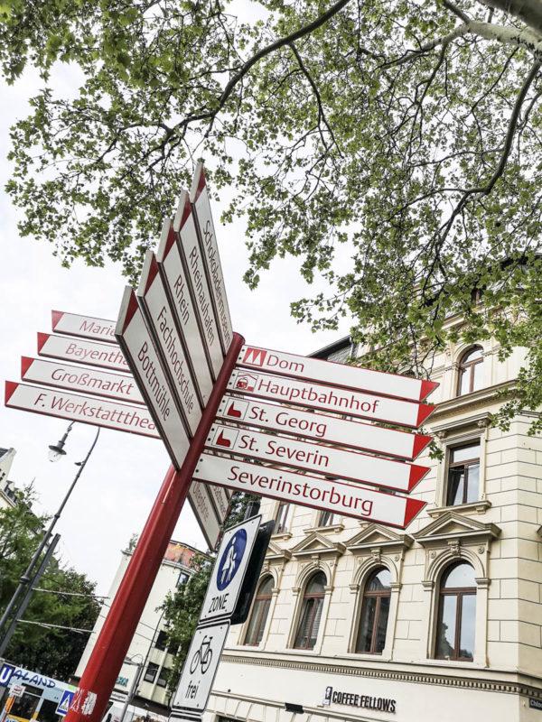 Hausnummern in der Severinstraße gehen anders rum